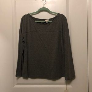 NWT Long Sleeved Grey Shirt